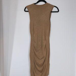 Express tan dress